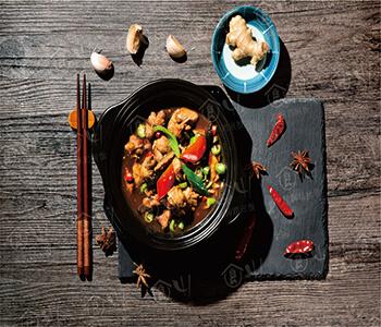 四食-黄焖鸡米饭